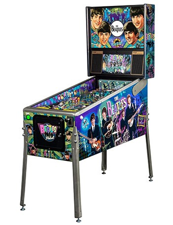 BEATLES DIAMOND EDITION PINBALL - Full Sized Preview