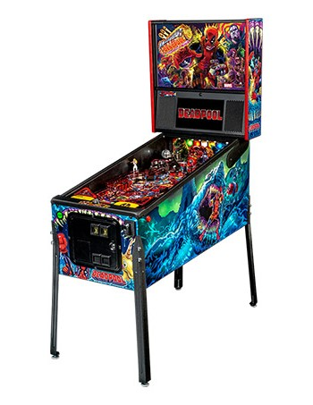 DEADPOOL PREMIUM PINBALL - Full Sized Preview