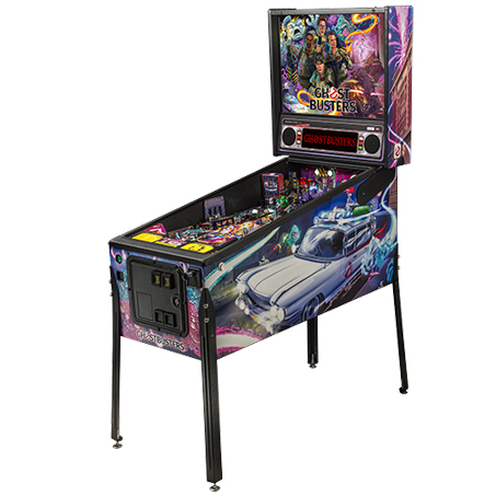 GHOSTBUSTERS PRO PINBALL Image - Click To Enlarge