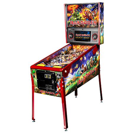 IRON MAIDEN LIMITED EDITION PINBALL - Full Sized Preview