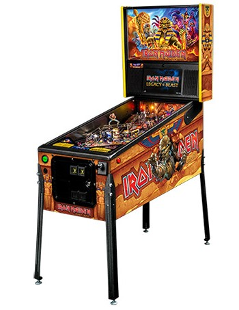 IRON MAIDEN PREMIUM PINBALL - Full Sized Preview
