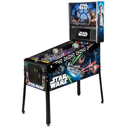 STAR WARS LIMITED EDITION PINBALL - Full Sized Preview