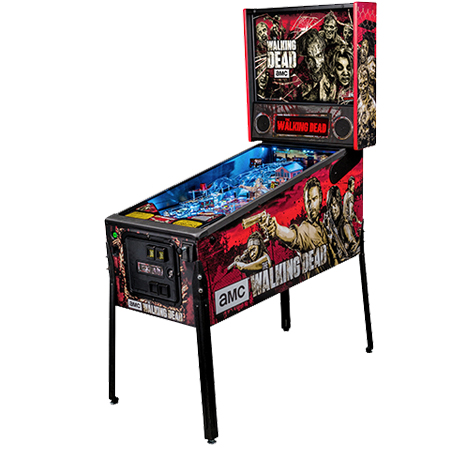 THE WALKING DEAD PRO PINBALL - Full Sized Preview