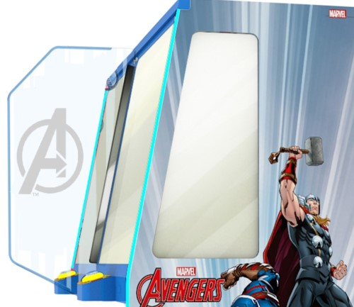 AVENGERS COIN PUSHER - Full Sized Preview
