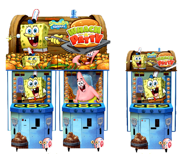 Player One Amusement Group - Product Details - SPONGEBOB ORDER UP