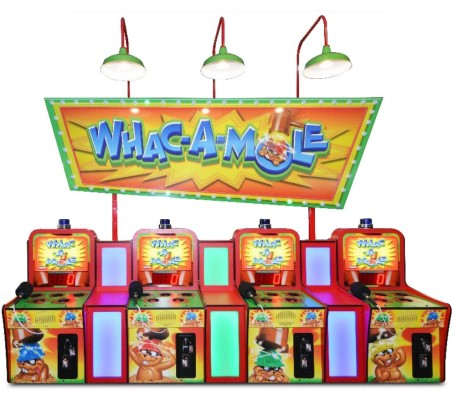 WHAC-A-MOLE 4-UNIT COMBINATION - Full Sized Preview