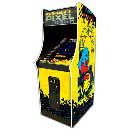 PAC-MAN'S PIXEL BASH UPRIGHT - Full Sized Preview