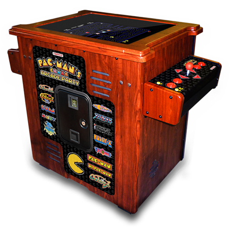 PAC-MAN'S ARCADE PARTY HOME COCKTAIL - Full Sized Preview