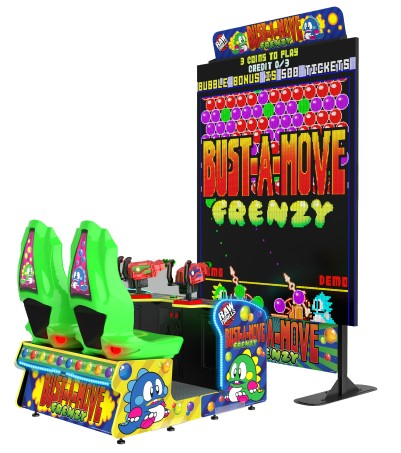 BUST A MOVE FRENZY - Full Sized Preview