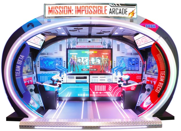 MISSION: IMPOSSIBLE ARCADE - Full Sized Preview